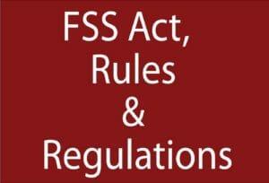 FSSAI Public Notice Regarding Proposal to Finalise Food Safety and Standards (Amendment) Bill 2020